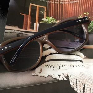 Esprit Accessories - Esprit Navy/Tan  Sunglasses
